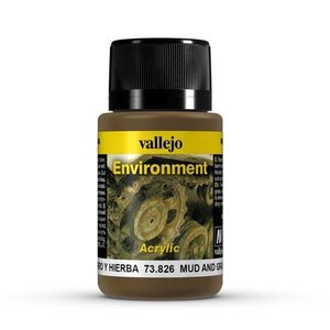 Vallejo Mud and Grass Effects Environment Effects Weathering Effects - 40ml - 73826