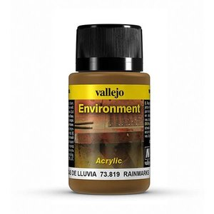 Vallejo Rain Marks Environment Effects Weathering Effects - 40ml - 73819