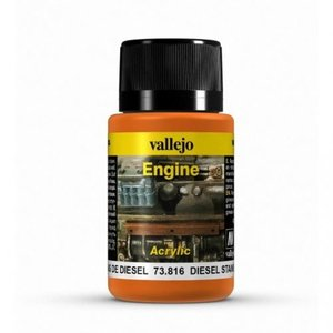 Vallejo Diesel Stains Engine Effects Weathering Effects - 40ml - 73816