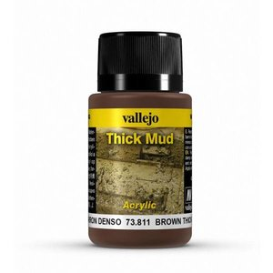 Vallejo Brown Mud Thick Mud Weathering Effects - 40ml - 73811