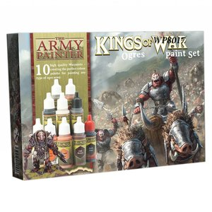 The Army Painter Warpaints Kings of War Ogres Paint Set - 10 kleuren - 17ml - WP8017