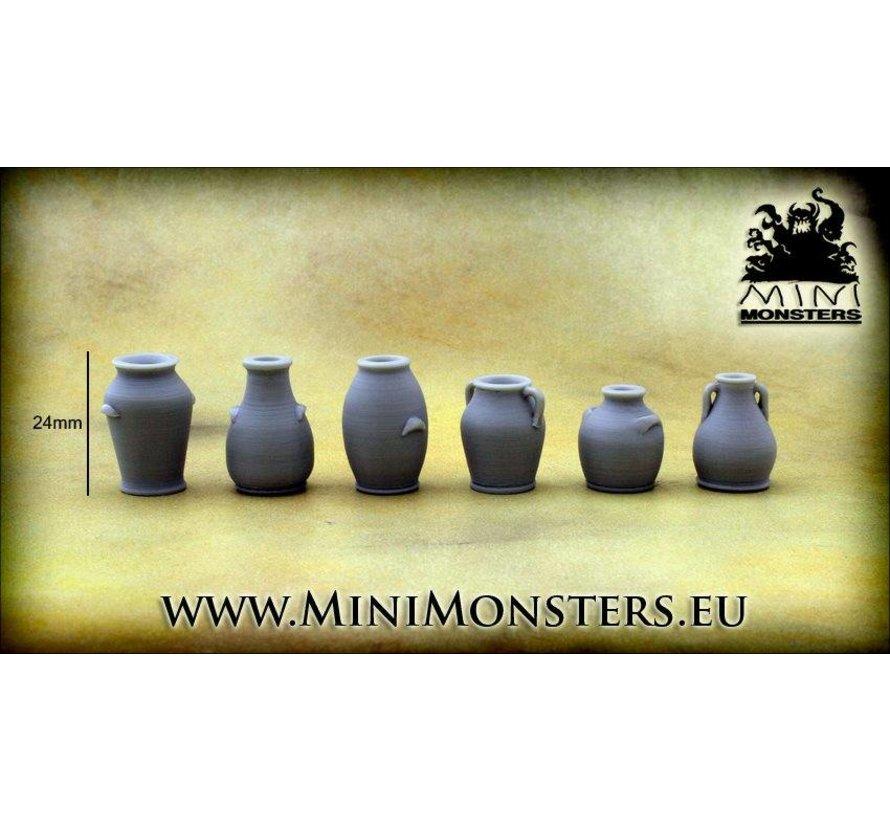 Vases - 6st - MM-25