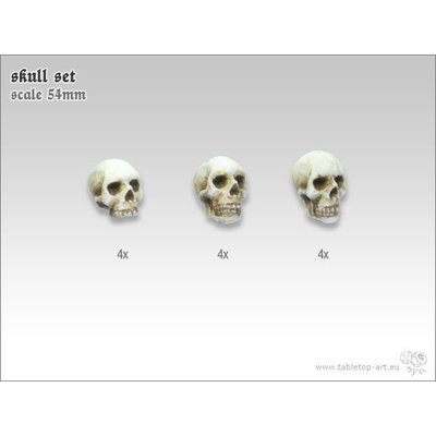 Tabletop-Art Skull Set 54mm - TTA600031