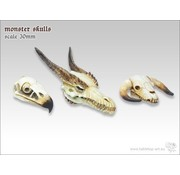 Tabletop-Art Monster Skull Set - TTA600033