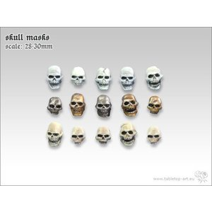Tabletop-Art Skull Masks - TTA601051