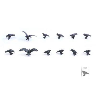 Tabletop-Art Raven Set - TTA601059