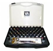 Vallejo Model Air Basic Set + brushes - 72 kleuren - 17ml - 71170