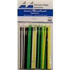 Albion Alloys Micro Brushes assorted pack - 40pcs - 359