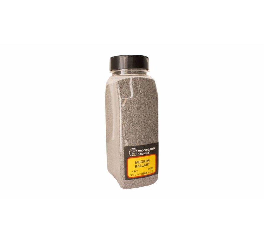 Gray Coarse Ballast Shaker - 945cm³ - B1389