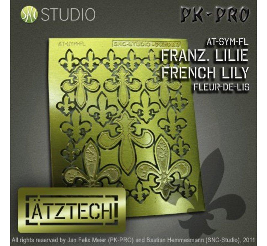 Ätztech Franse Lelies - Photo-Etch - AT-SYM-FL-1