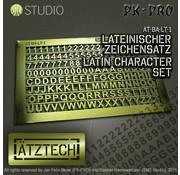 Ätztech Cijfers en Letters - Photo-Etch - AT-BA-LT-1