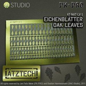 Ätztech Ätztech Eiken Bladeren - Photo-Etch - AT-NAT-LV-1