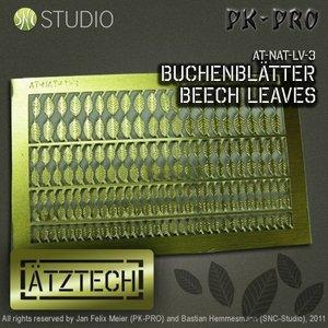 Ätztech Ätztech Beuken Bladeren - Photo-Etch - AT-NAT-LV-3