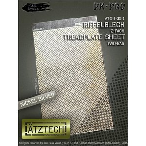 Ätztech Ätztech Dubbele Traanplaat - Photo-Etch - AT-SH-GS-1