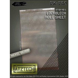 Ätztech Ätztech Geperforeerde Plaat - Photo-Etch - AT-SH-HS-1