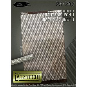 Ätztech Ätztech Diamant Plaat - Photo-Etch - AT-SH-RG-1