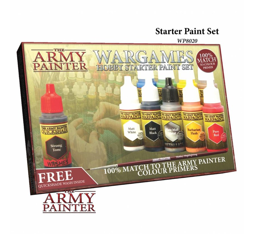 Warpaints Starter Paint Set 2017 - 10 kleuren - 17ml - WP8020
