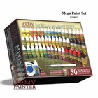 The Army Painter Warpaints Mega Paint Set 2017 - 50 kleuren - 17ml - WP8021
