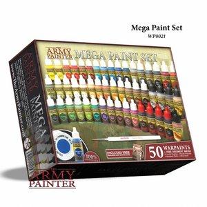 The Army Painter Warpaints Mega Paint Set 2017 - 50 kleuren - 17ml - WP8021