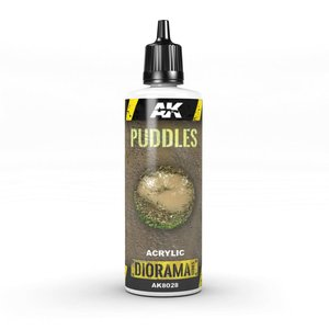 AK interactive Puddles - Diorama Series - 60ml - AK-8028