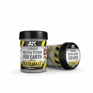 AK interactive Terrains Neutral Texture - Diorama Series - 250ml - AK-8023