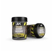 AK interactive Terrains Muddy Ground - Diorama Series - 250ml - AK-8017