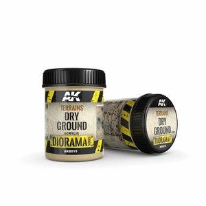 AK interactive Terrains Dry Ground - Diorama Series - 250ml - AK-8015