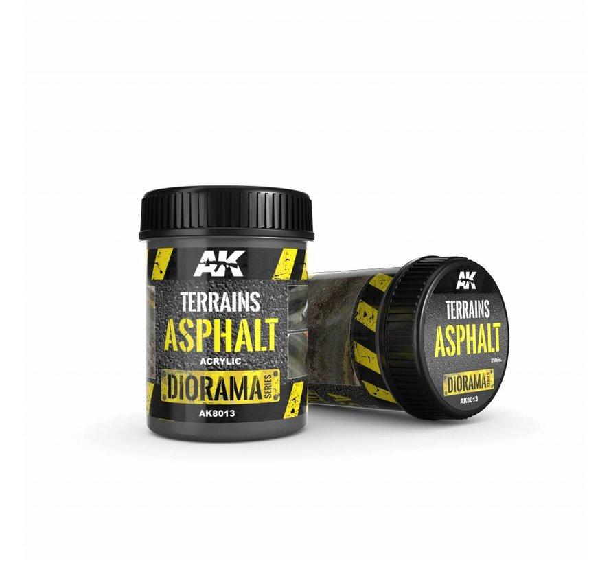 Terrains Asphalt - Diorama Series - 250ml - AK-8013