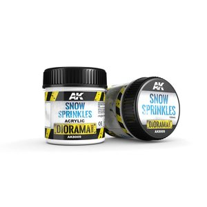 AK interactive Snow Sprinkles - Diorama Series - 100ml - AK-8009