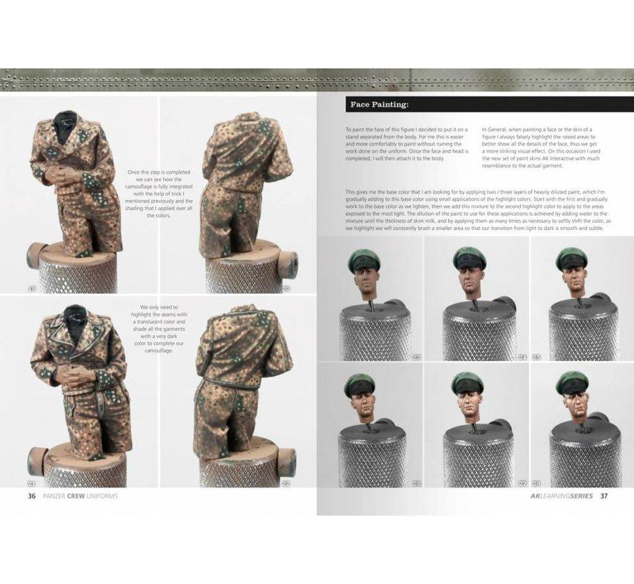 Panzer Crew Uniforms - AK Learning Series nr 2 - 2nd Edition - 86pag - AK-272