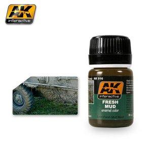 AK interactive Fresh Mud Effects - AK Weathering Products - 35ml - AK-016
