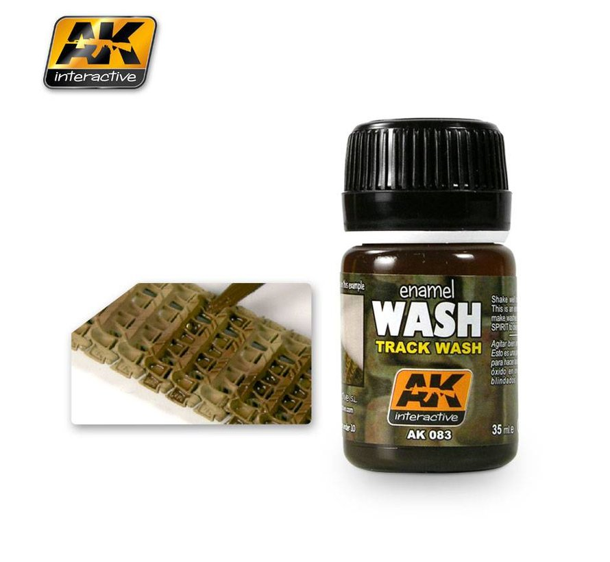 Track Wash - AK Weathering Products - 35ml - AK-083
