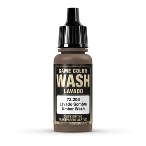 Vallejo Game Color Wash Umber Shade - 17ml - 73203