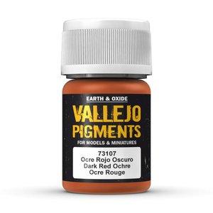 Vallejo Pigment Dark Red Ochre - 35ml - 73107
