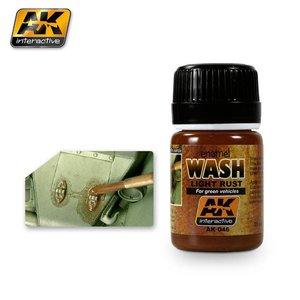 AK interactive Light Rust Wash - AK Weathering Products - 35ml - AK-046