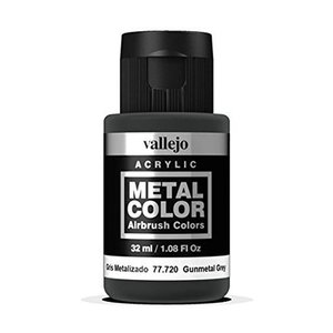Vallejo Metal Color Gunmetal Grey - 32ml - 77720