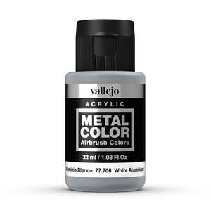 Vallejo Metal Color White Aluminium - 32ml - 77706