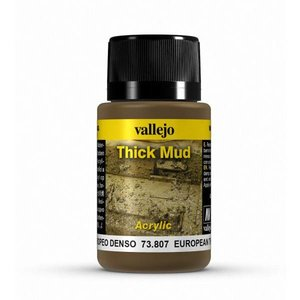 Vallejo European Mud Thick Mud Weathering Effects - 40ml - 73807