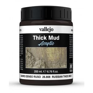 Vallejo Russian Mud Thick Mud Weathering Effects - 200ml - 26808