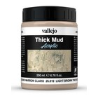 Vallejo Light Brown Mud Thick Mud Weathering Effects - 200ml - 26810