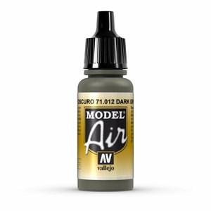 Vallejo Model Air Dark Green - 17ml - 71012