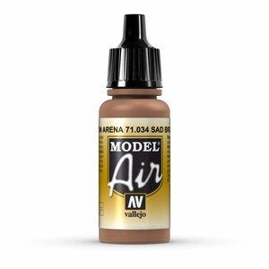 Vallejo Model Air Sand Brown - 17ml - 71034