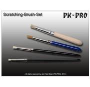 PK-Pro Weathering Brushes - SP-ScrSet