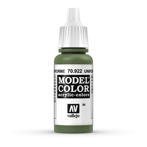 Vallejo Model Color Uniform Green - 17ml - 70922
