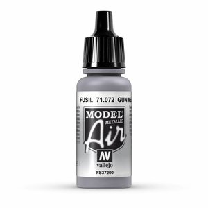 Vallejo Model Air Gun Metal - 17ml - 71072