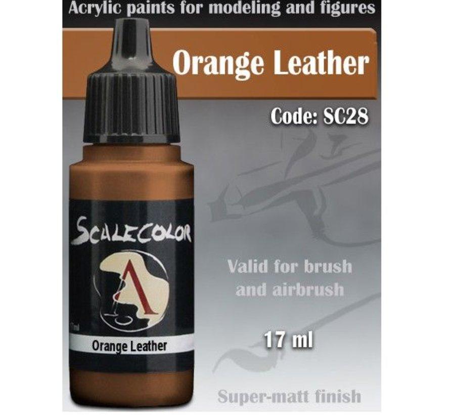 Scalecolor Orange Leather - 17ml - SC-28