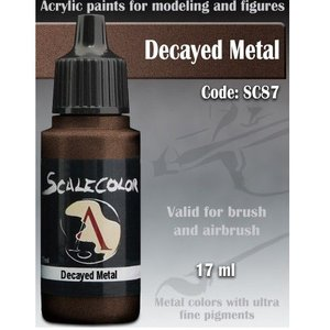 Scale 75 Scalecolor Decayed Metal - 17ml - SC-87