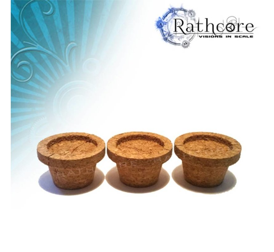 Cork Adapters M (3x) -  RC-302020