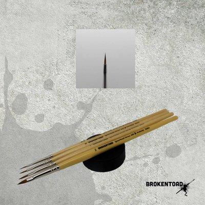 Brokentoad MK2 Spearhead Series 3/0 penseel