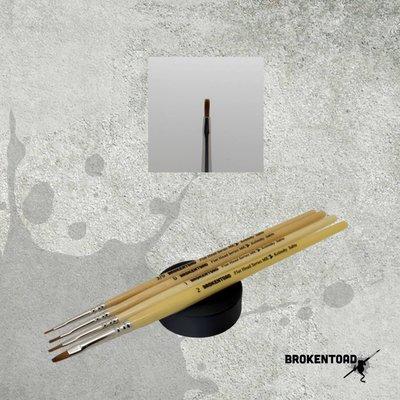 Brokentoad MK2 Flat Head Series 0 penseel